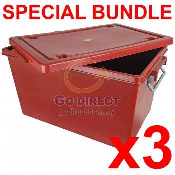 [B] 40L Storage Box (708B) 3 units