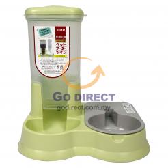 Plastic Pet Food & Water Holder (CL100) 1 unit