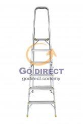 6T Step Ladder with Platform (HFH5516) 1 unit
