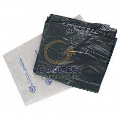 """18"""" X 24"""" Black Plastic Bag (G1824BK) 50 pcs"""