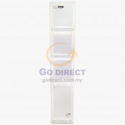 Slim Storage Drawers NA-4D (CL447) 1 unit