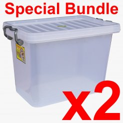 [BUNDLE] 17.5L Storage Box (9704) 2 units