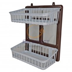2T Bathroom Hanging Rack (772) 1 unit