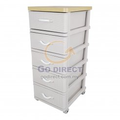 5T Wood Top Prattan Storage Drawer (STWH5P) 1 unit