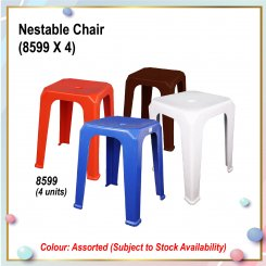 [S] Nestable Chair (8599 X 4)