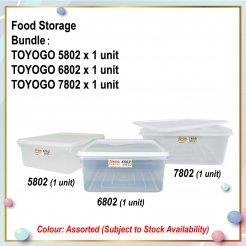 [S] Food Storage Bundle (5802 + 6802 + 7802)