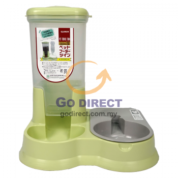 Plastic Pet Food & Water Holder (CL100) 1 unit