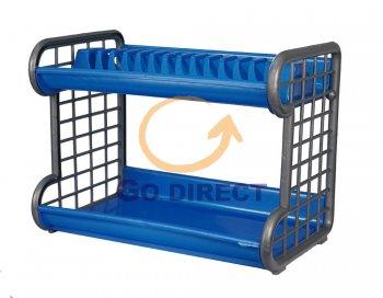 2 Tiers Dish Rack (993-P) 1 unit