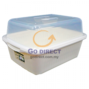 Dish Drainer with Cover (CL35) 1 unit