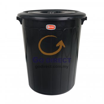 50L Dustbin with Cover (6012) 1 unit