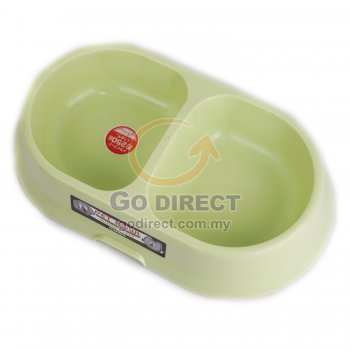 Dual Pet Food/Water Feeder (CL105) 1 unit
