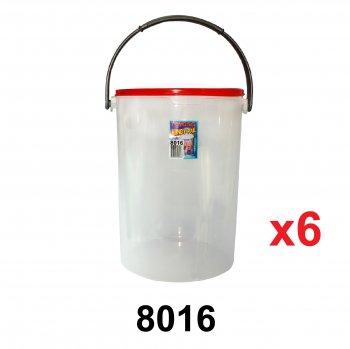 28L Pet Food Container (8016) 6 unit