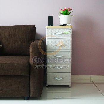 5T Wood Top Prattan Storage Drawer (STWH5P) 1 unit