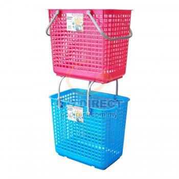 Rolling Laundry Basket (9699) 1 unit