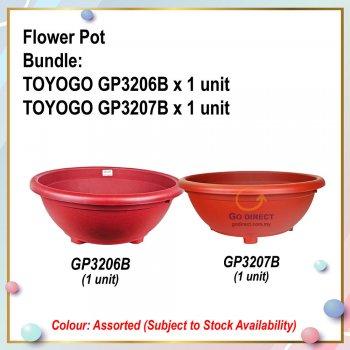 [S] Flower Pot Bundle (GP3206B + GP3207B)