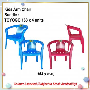 [S] Kids Arm Chair (163 X 4)