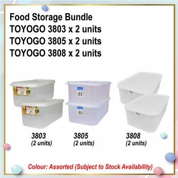 [S] Food Storage Bundle (3803 X 2 + 3805 X 2 + 3808 X 2)