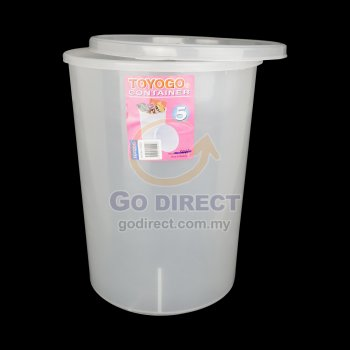 15L Round Container (5020) 2 units