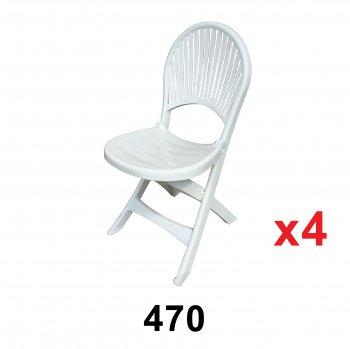 Foldable Chair (470) 4 unit