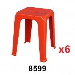 Nestable Chair (8599) 6 unit