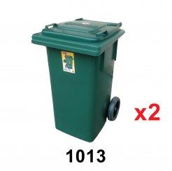 120L Dustbin (1013) 2 unit