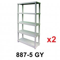 5T Plastic Shelf (887-5G) 2 unit