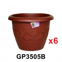 Flower Pot (GP3505B) 6 units