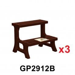 2T Flower Pot Stand (GP2912) 3 unit