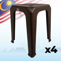 Nestable Chair (8599B) 4 units