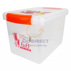 6L Tight Food Container (CL44) 1 unit