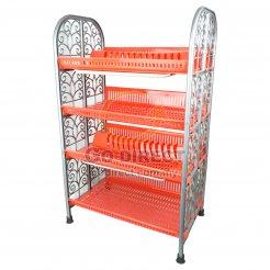 4T Plastic Dish Rack (998-4) 1 unit