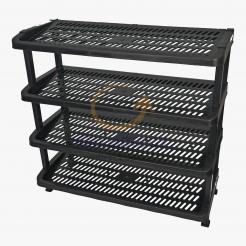 4 Tiers Shoes Rack (342-4) 1 unit