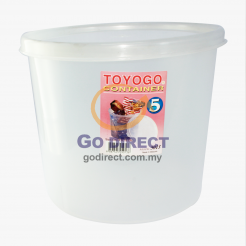 5L Round Container (5013) - 2 units
