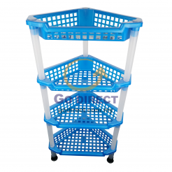 4-Tier DIY Corner Rack (4119-4) 1 unit