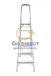 6T Step Ladder with Platform (HFH5516) 1 unit