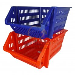 Stackable Space Basket (7406) 3 units