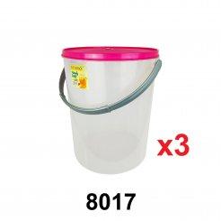 47L Pet Food Container (8017) 3 unit