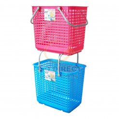 Rolling Laundry Basket (9699) 1 unit