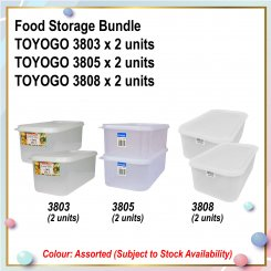 [S] Food Storage Bundle (3803 X 2 + 3805 X 2 + 3808 X 2)