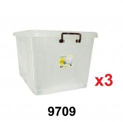 73L Storage Box (9709) 3 unit