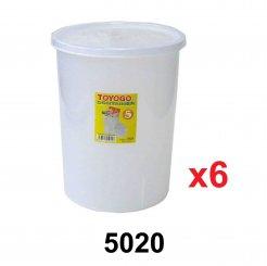 15L Round Container (5020) 6 units