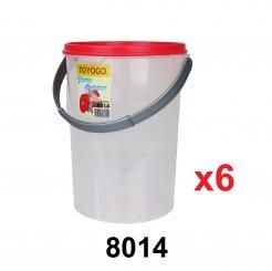 6L Pet Food Container (8014) 6 unit