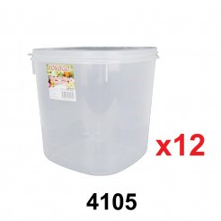 Square Microwavable Container (4105) - 12 units