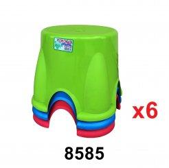 Nestable Stool (8585) 6 unit
